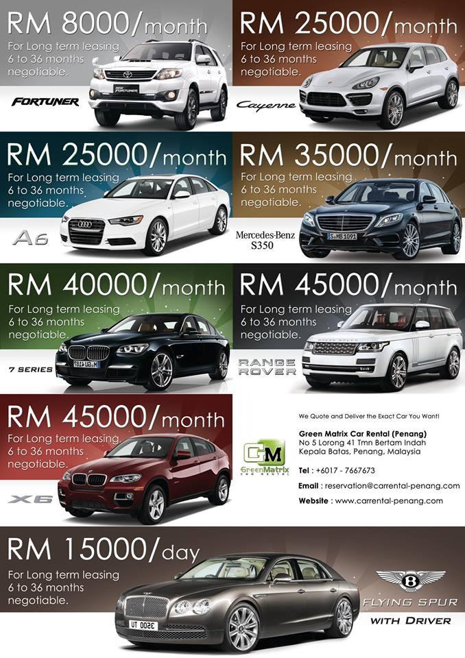 Wedding Cars Carrental Penang Com